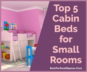 Childrens cabin beds for small rooms