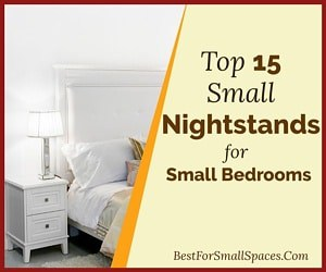 Small Nightstands for Small Bedrooms