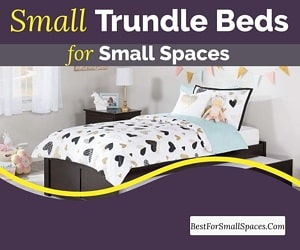 Small trundle bed for small spaces