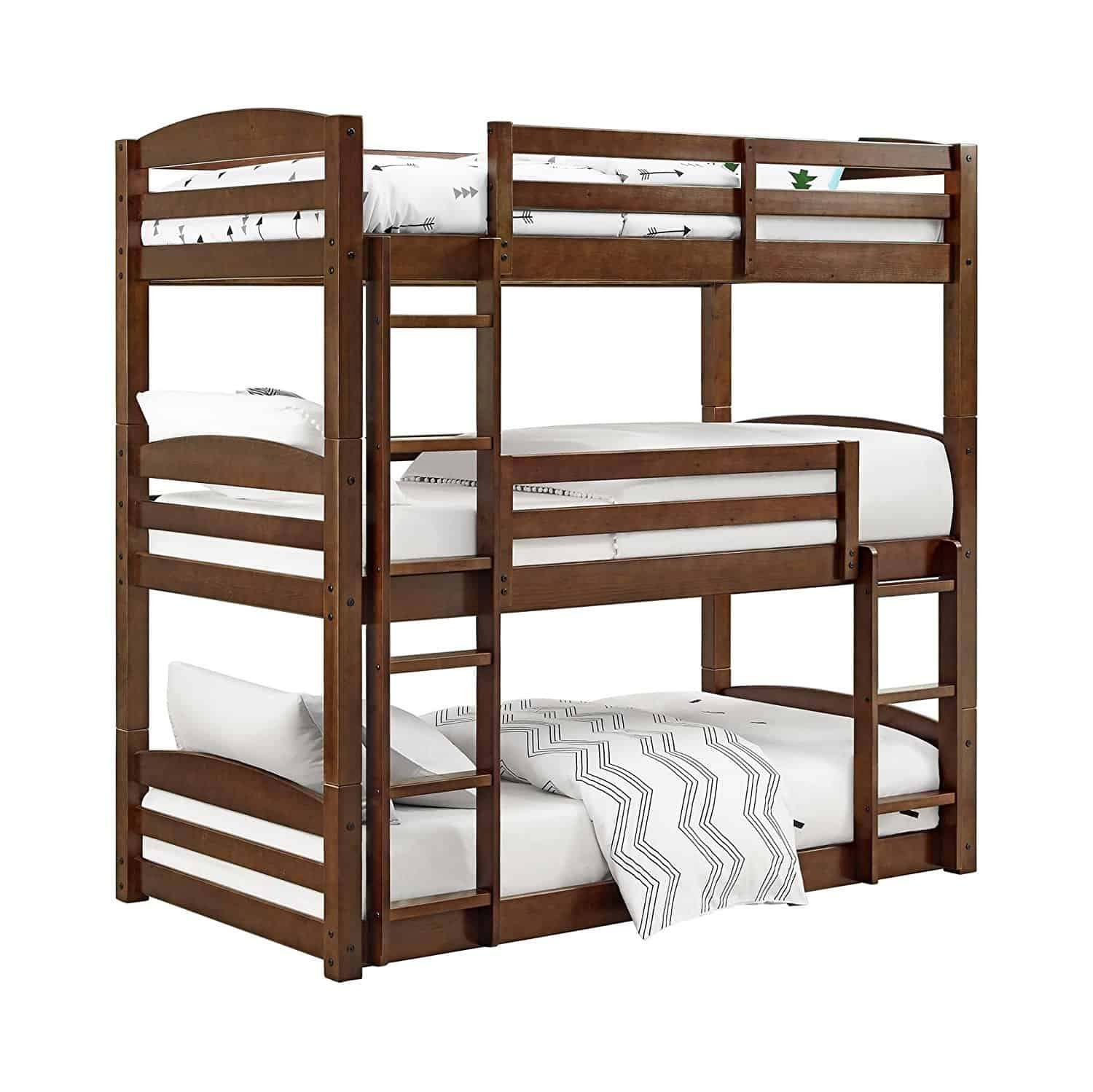 Triple Bed Two Twin One Full