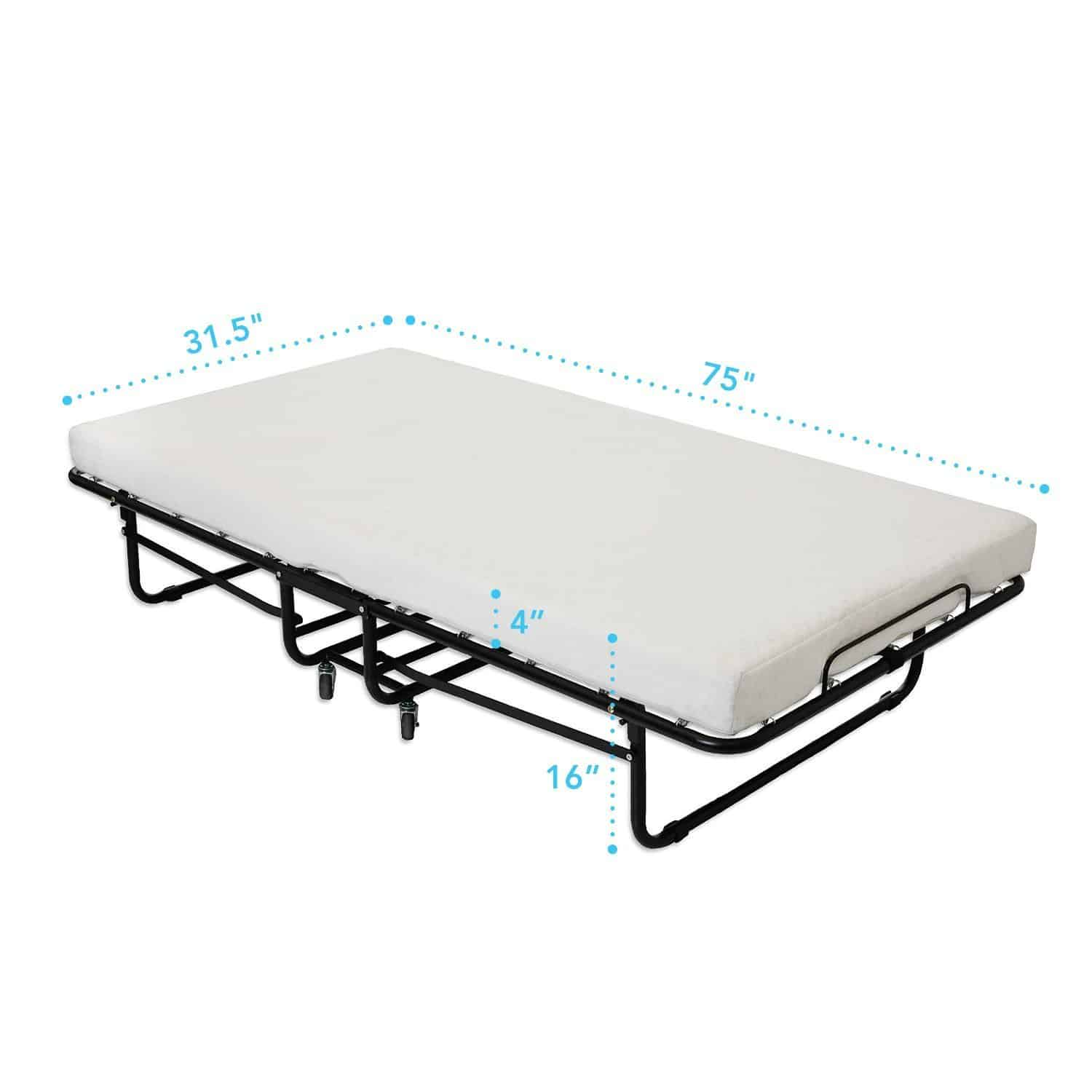 Best Fold Up Beds For Small Spaces Best For Small Spaces