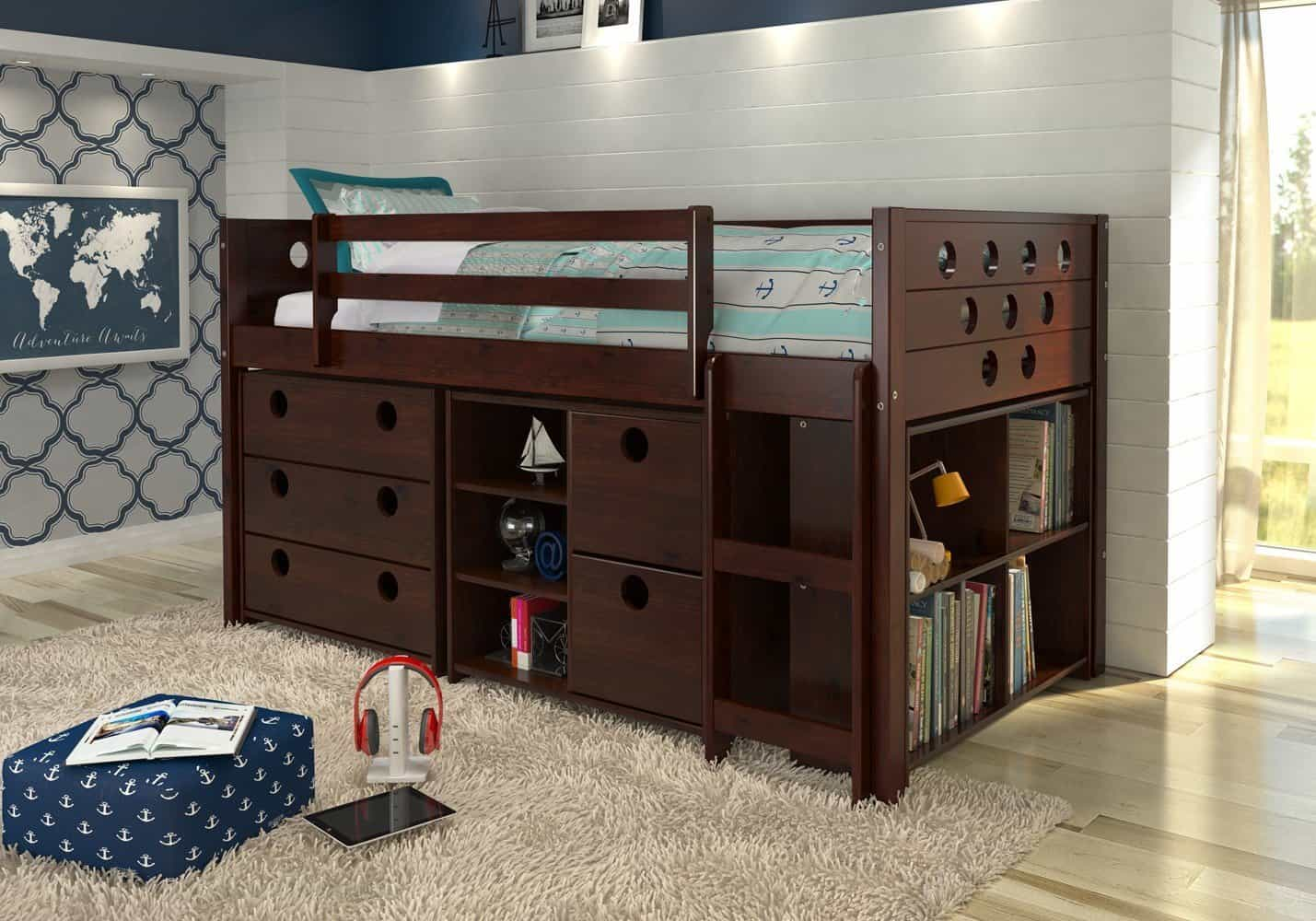 kids-cabin-bed-for-small-home