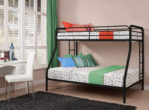 metal-bunk-bed-for-small-homes