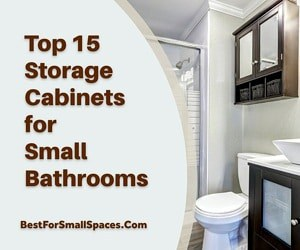 Best Storage Cabinets For Small Bathrooms