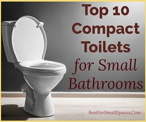 Best compact toilets for small spaces