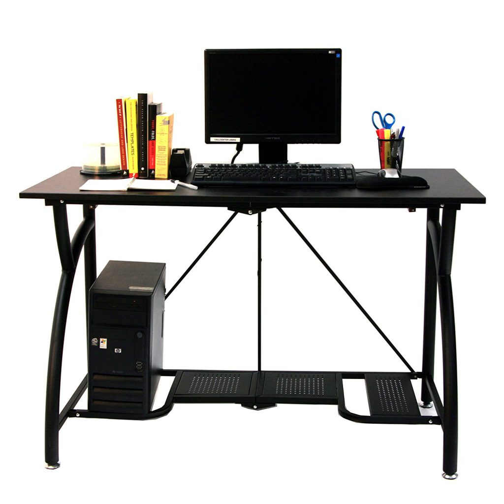 Small Folding Computer Desk for Small Rooms
