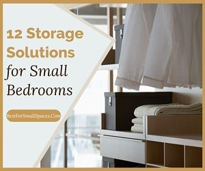 12 Storage Solutions For Small Bedrooms