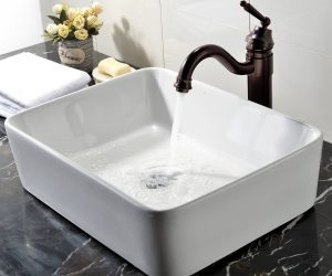 budget bathroom sink for small spaces