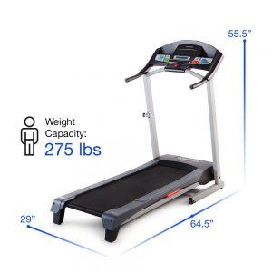 fold up small treadmill