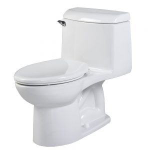 powerful compact toilet for small bathrooms