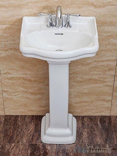 small pedestal bathroom sink