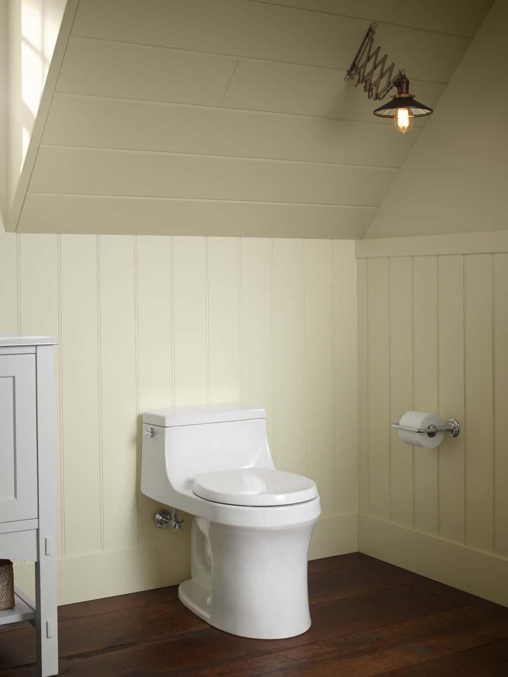 Kohler San Souci Round Front Toilet With Aquapiston Flushing Technology