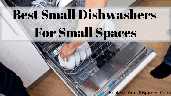 Man Putting Dishes Into A Small Dishwasher
