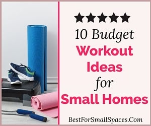 Budget workout ideas small spaces