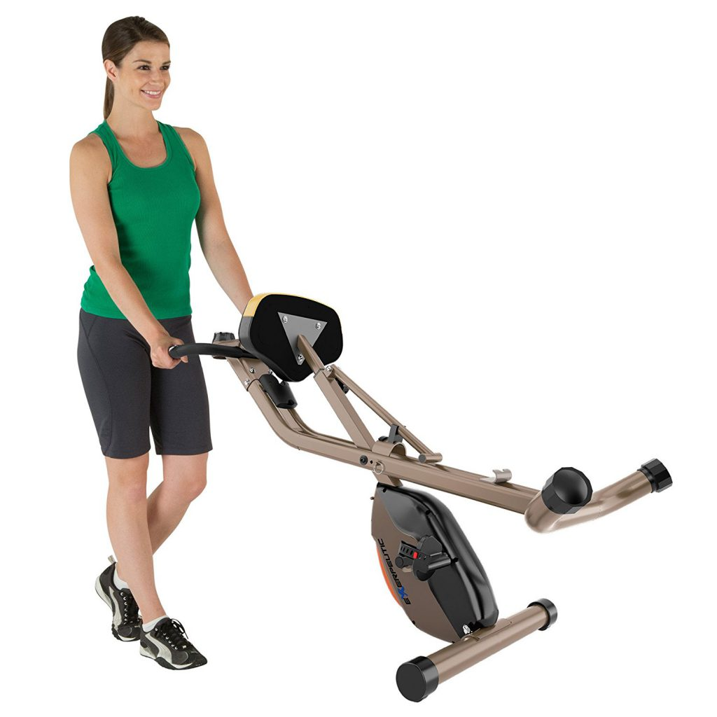 heavy duty compact exercise bike