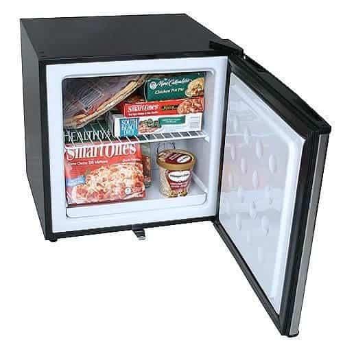 mini fridge freezer for small kitchens