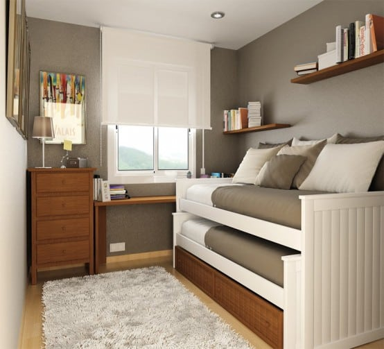 Boys Bedroom With Day Beds