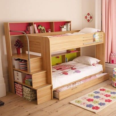 Boys Bunk Beds In Small Bedroom