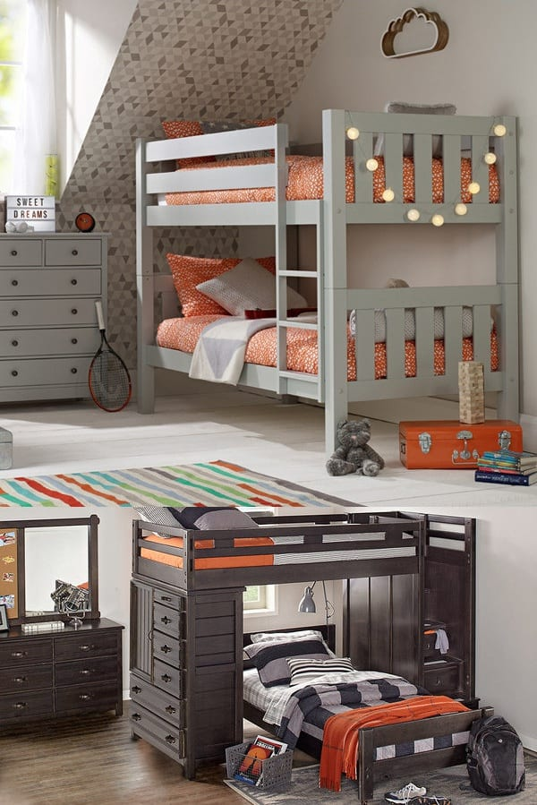 Boys Small Bedroom With Bunk Beds