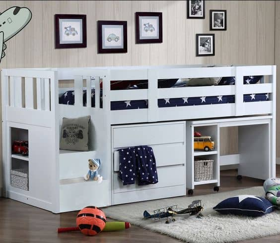 Cabin Bed For Boys Small Room
