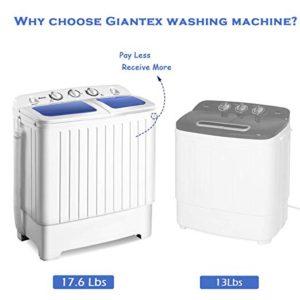 Compact Washing Machine by Giantex