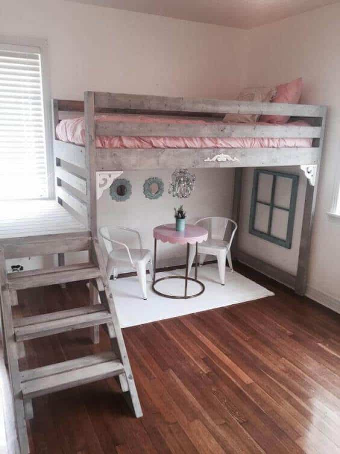 Girls-Bedroom-Ideas-with-Loft-Bed