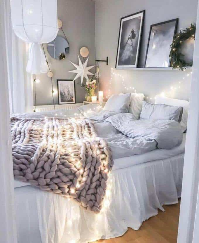 Girls Bedroom-Star Lights