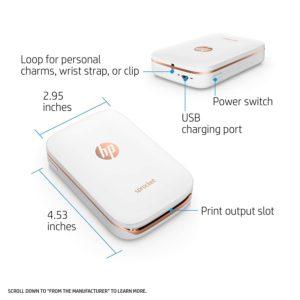 Small Portable Photo Printer Measurements