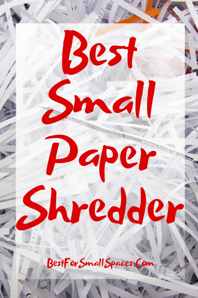 Best Small Paper Shredder