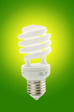 Summer Energy Saving Tips - Lightbulb
