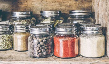 Kitchen Organization - Pantry Jars