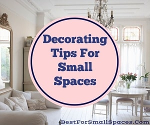 Space saving decorating tips