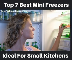 Best mini freezers small kitchens