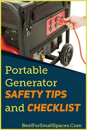 Portable Generator Safety Tips and Checklist
