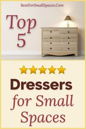 Small dressers for small spaces