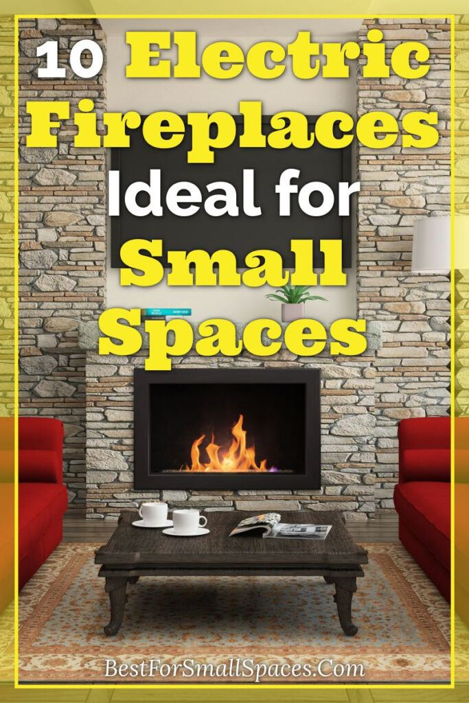10 electric fireplaces for small spaces