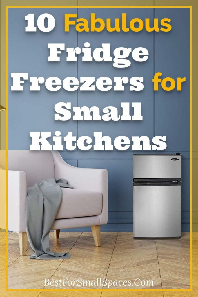 10 small fridge freezers