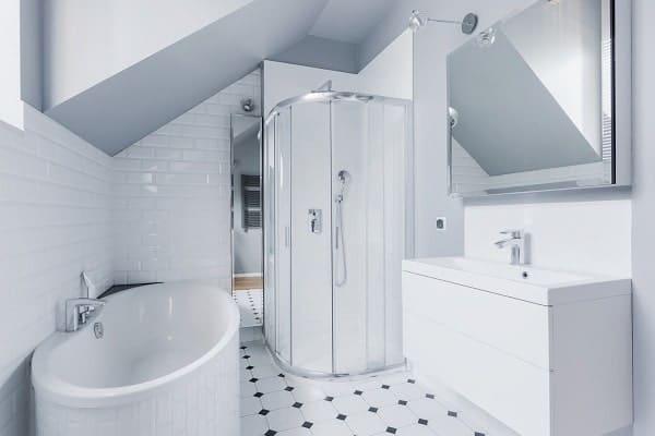 Small Bright Bathroom
